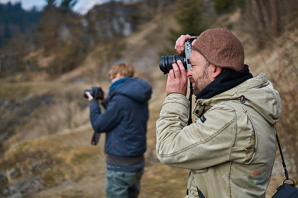 Janine & Sven im Fotorausch