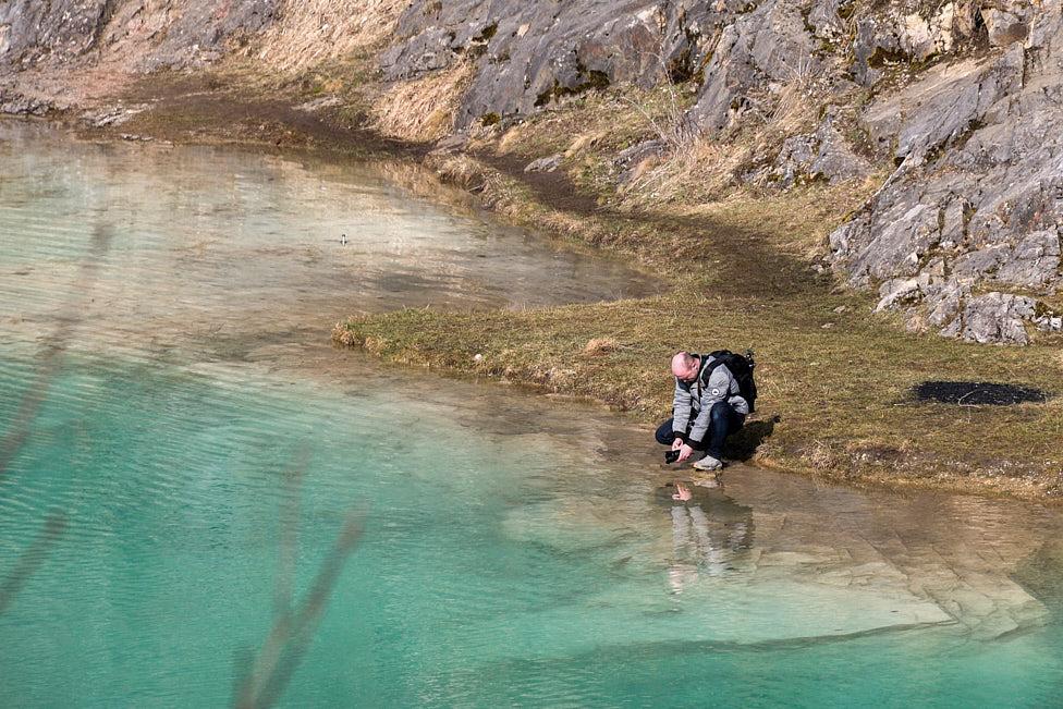 Bis die Kamera mal ins Wasser fällt.