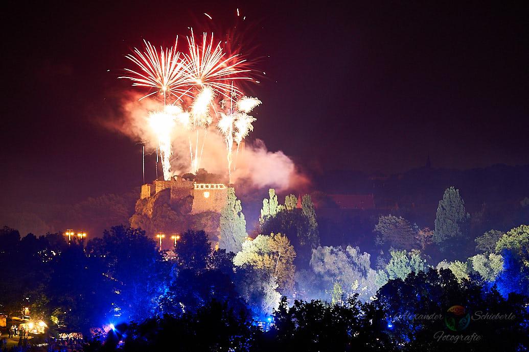 Burg Giebichenstein zum Laternenfest