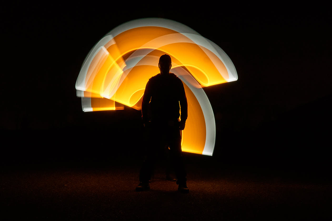 Andre Lightpainting