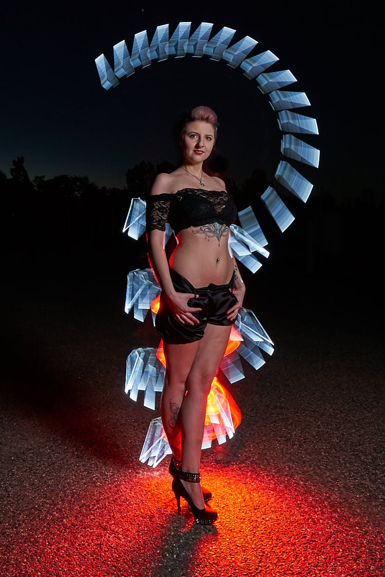 Jasmin Lightpainting