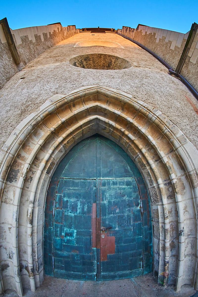Der Eingang der Marktkirche