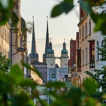 Die Marktkirche im Grünen