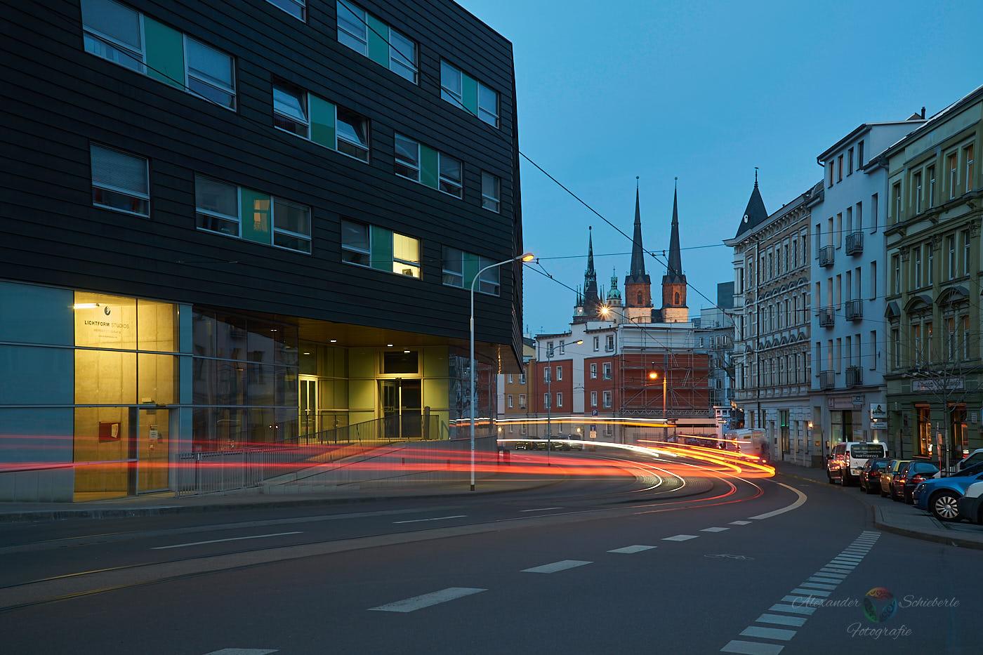 Multimediazentrum mit Blick zur Marktkirche