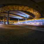 Straßenbahn-Lichtzieher am Riebeckplatz