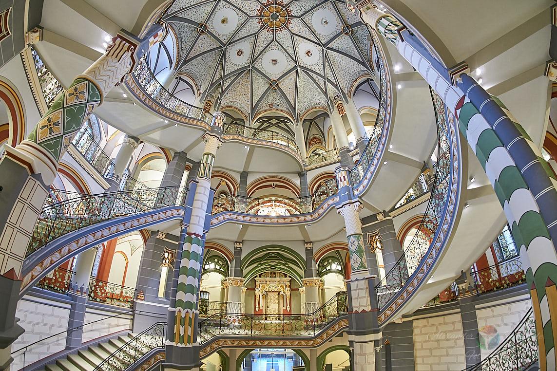 Treppenhaus im Landgericht