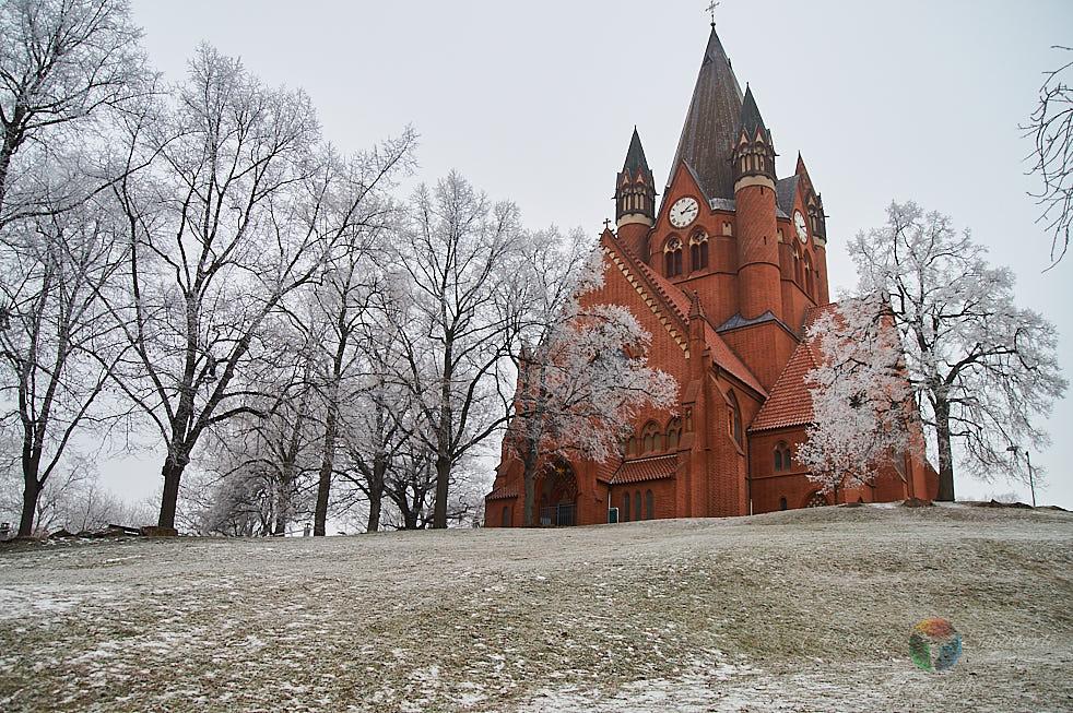 Pauluskirche im Winter