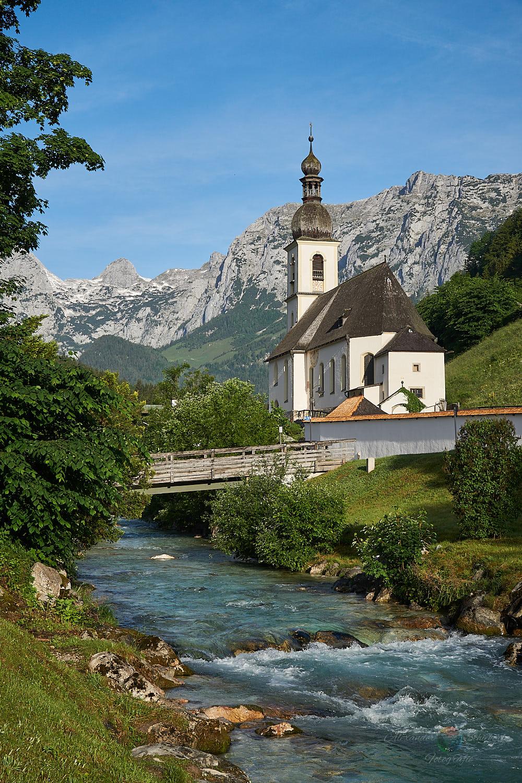 Pfarrkirche St. Sebastian an der Ramsauer Ache
