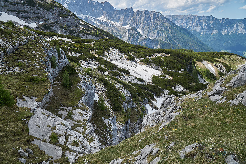 Gletscher am Watzmann