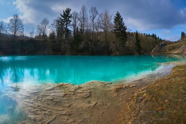 Der Blaue See im Harz bei Hüttenrode