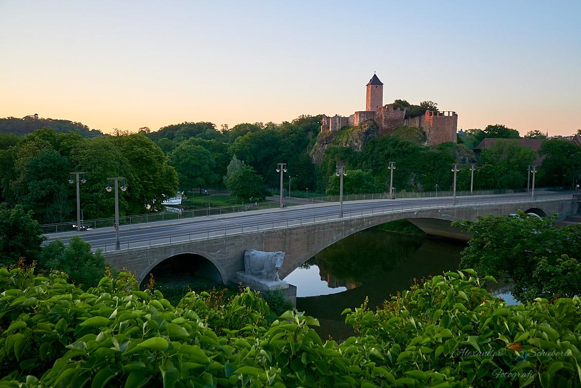 Burg Giebichenstein im Frühling