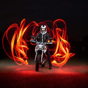 KTM Lightpainting