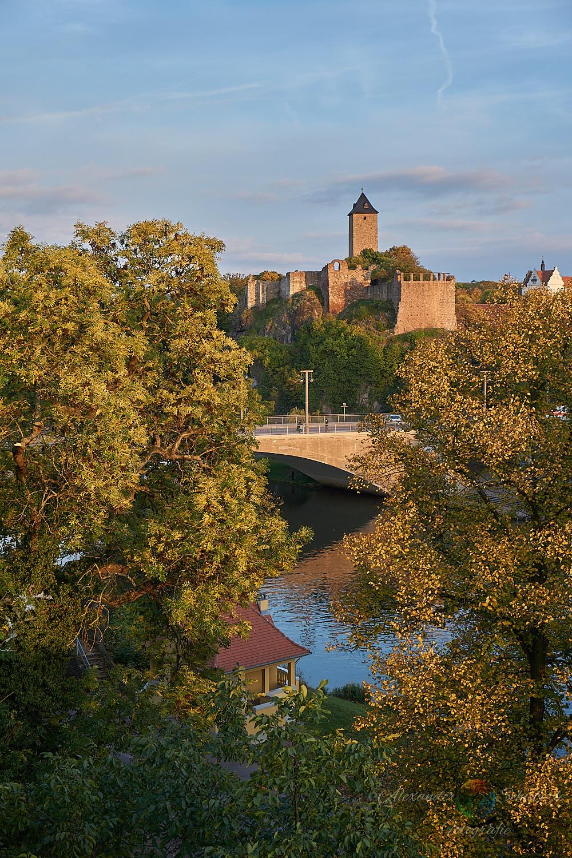 Burg Giebichenstein im Herbst