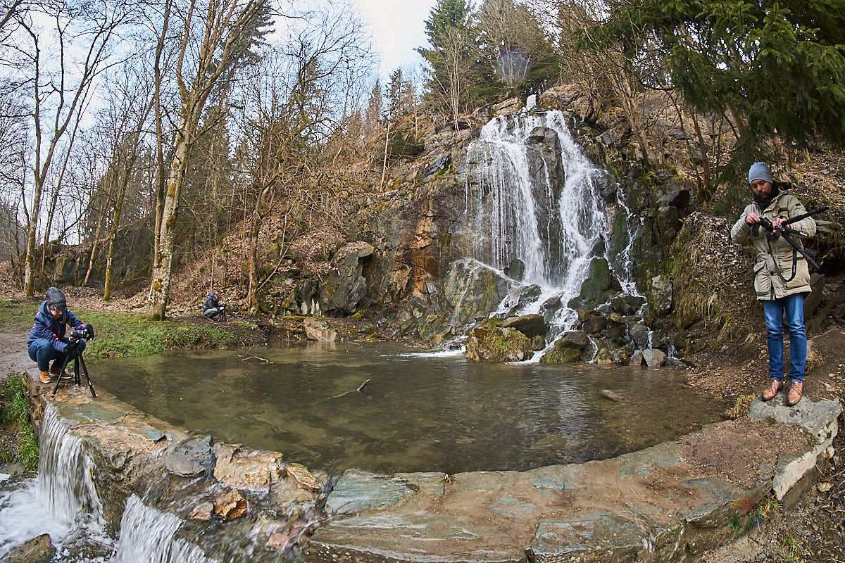 Königshütter Wasserfall mit Janine, Chrisi & Sven (MakingOf)